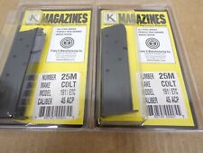 Colt Style 1911 Government Magazine by Triple K #25M   2-PACK!