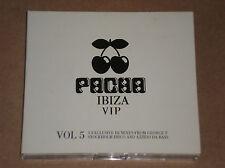 PACHA IBIZA VIP. VOL. 5 (AFROJACK,GEORGE F,DENNIS FERRER)-3 CD COME NUOVO (MINT)