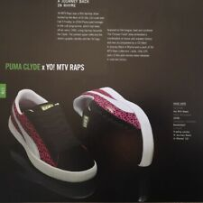 Flyer PUMA CLYDE x YO! MTV RAPS special