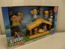 Fisher Price Little People Children's Nativity Set 1st Christmas 11 Pieces NIB