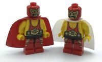 LEGO LOT OF 2 WRESTLER MINIFIGURES SERIES COLLECTIBLE CMF FIGS