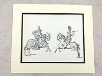 Military Print Medieval German Jousting Tournament Knight Horse Armour Dress