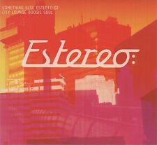 ESTEREO 02 - CITY LOUNGE BOOGIE SOUL - CD album