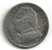 Ecu Argent 5 Francs Louis XVIII F.308.11 1814Q