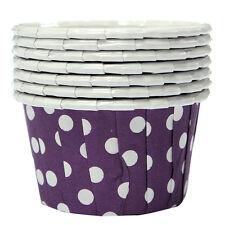 100X Cupcake Wrapper Paper Cake Case Baking Cups Liner Muffin Purple