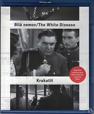 Krakatit / Bila nemoc (White Disease) Czech Blu-ray English subtitle Karel Capek