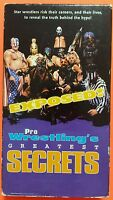 Pro Wrestling's Greatest Secrets VHS WCW/nWo WWF/WWE NWA AWA ECW TNA NXT DX