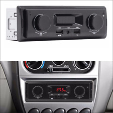 1 Din Car FM Stereo Radio Aux Input Receiver USB MP3 Player 87.5-108 MHz