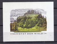Österreich 1985 postfrisch MiNr. Block 7  Jahr des Waldes