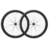 DT350s Center Lock Carbon Wheelset Disc brake 50mm Clincher Matt Road Bike 700C
