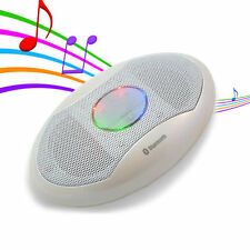 Colour LED Bluetooth Wireless Stereo Pocket Speaker for iPad iPhone Android