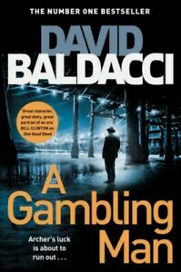 A Gambling Man by David Baldacci 9781529061772 | Brand New | Free UK Shipping