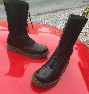 Dr Martens 1914 black smooth leather boots UK 6 EU 39