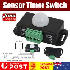 DC 12V-24V 8m Automatic Infrared PIR Motion Sensor Timer Switch For LED light