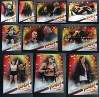 2019 Topps WWE Raw Ronda Rousey Spotlight Wrestling Cards Complete Your Set Pick