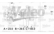 VALEO Alternador 120A 437307