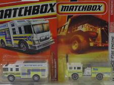 Lot of 2 * Various Emergency Vehicles * Matchbox