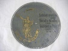 """Glöckchen im Thale Polyphon Platte 39,5cm Spieluhr Spieldose music disc 15 1/2"""""""