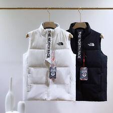 The North Face 700 Body Warmer Men's Women's Winter Down Cotton Vest White Black