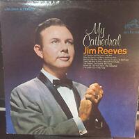 JIM REEVES GOSPEL LP...MY CATHEDRAL..VG PLUS VINYL AND JACKET