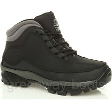 MENS WOMENS LADIES LEATHER WATERPROOF SAFETY SHOES BOOTS WORK STEEL TOE CAP SIZE