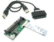 Sintech 24pin SATA lif macbook air SSD HDD to SATA adapter card +USB cable