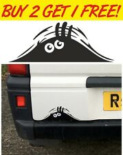 Peeking Monster pour les voitures, des murs Windows autocollant Drôle Voiture Graphique Vinyle Autocollant
