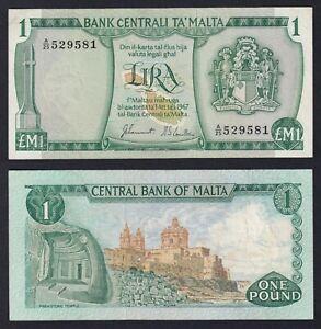 Malta 1 lira 1973 SPL+/XF+  B-06