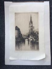 Antique (Pre-1900) Architecture Engraving Art Prints