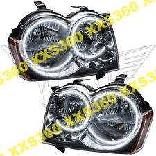 ORACLE Halo HEADLIGHTS non HID for Jeep Grand Cherokee 05-07 WHITE LED Angel Eye