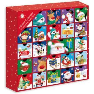 Fill your Own Advent Calendar 1-24 Days Draws Christmas Countdown