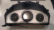 12 MERCEDES GLK350 Speedometer Assy MPH Base w/ 12 Button Wheel ID# 2049004607