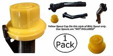 NEW BLITZ Replacement YELLOW SPOUT CAP Top Hat Style fits # 900302 900092 900094
