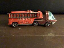 Vintage Hot Wheels Redline Heavyweights Red Fire Truck 1969.