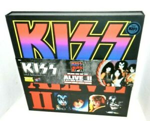 KISS ALIVE 2 DELUXE BOXED SET CONCERT VARIANTS /200 OR LESS NEW SEALED RARE SET