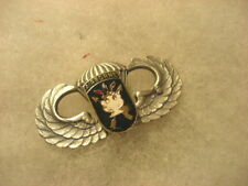 Badge Army Parachute Wings JFK Special Warfare Center