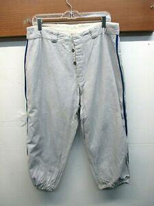 EUC! Vintage 1920's General Athletics Products Co. Flannel Baseball Pants Sz 34