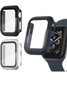3 Pack Apple Watch case with Screen Protector for Apple Watch 38mm Series 3/2/1