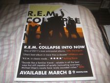 R.E.M.-Collapse-1 Poster-11X17 Inches-Nmint!