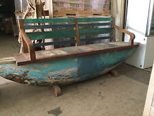 Timber Boat Bench