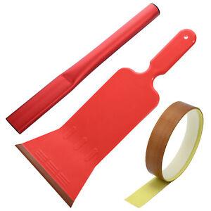 PTFE Felt Bulldozer Squeegee Window Tint Tools Paddle Handle Scraper Application