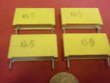 Rare! Condensateur 0,22µf (220nf) 400v = marché 22x15x6mm rm = 23mm 4x 25604