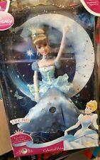 "Rare DISNEY Cinderella Celestial Princess Porcelain Doll Brass Key Keepsake 13"""