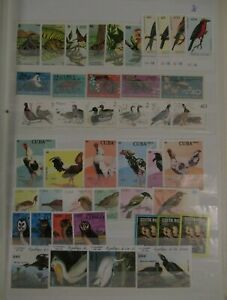 LOT WILDLIFE SETS VF MNH B25.11 START $0.99