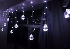 LED Lichterkette weihnacht-kugeln Christmas Weihnachten Weihnachtslichter Deko