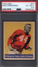 1949 Leaf #19 Paul Christman Cardinals PSA 4.5 *671821