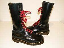 Dr. Martens boots cuir bordeaux 14 trous 1914 made in