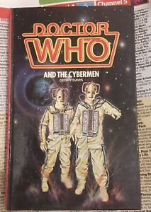 DR WHO AND THE CYBERMEN WH ALLEN HARDBACK BOOK