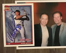 WADE BOGGS HOF autograph 1991 TOPPS set signed card RED SOX 91