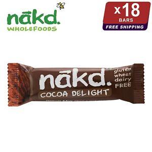 18 x Nakd Cocoa Delight Bars 35g